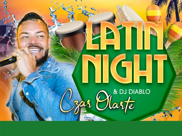 Latin night with C-zar Olarte & DJ Diablo