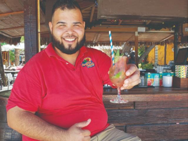 Danny Kock - Bartender MooMba Beach