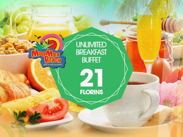 Unlimited Breakfast Buffet for a stunning low price