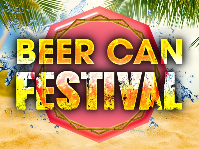 Beer Can Festival at MooMba Beach