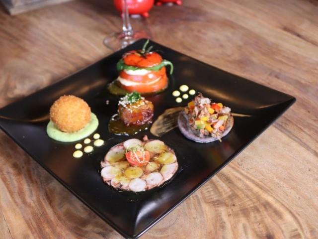 Fantastic tapas special at Salt & Pepper