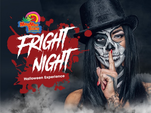 Fright Night at MooMba Beach, the Halloween Experience