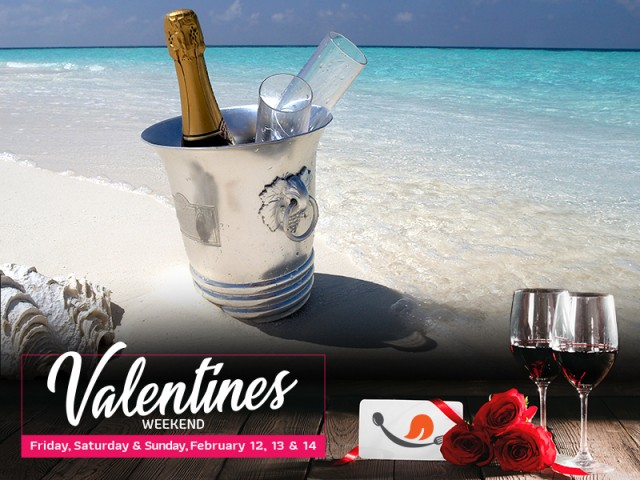 Valentine's Lovers Beach Package!