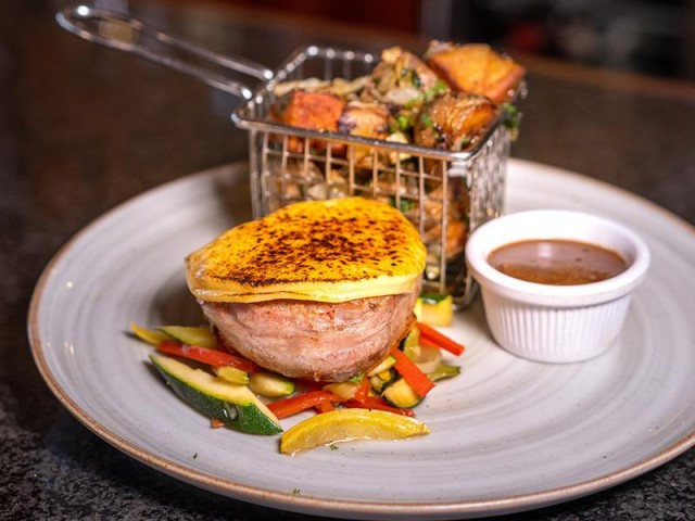 Café the Plaza's April special features delicious classics