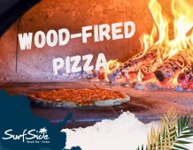 New at Surfside Beach Bar: Wood-fired Pizza!