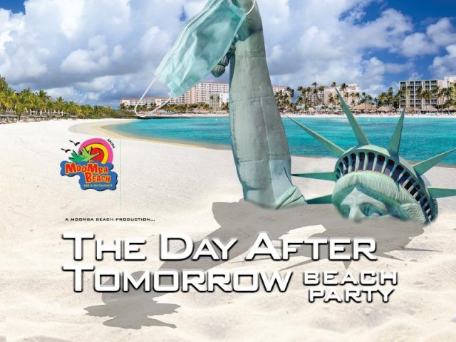 MooMba Beach launched first party after restrictions: Day After Tomorrow Beach Party!