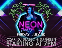 MooMba's Neon Party is back with a summer vibe edition