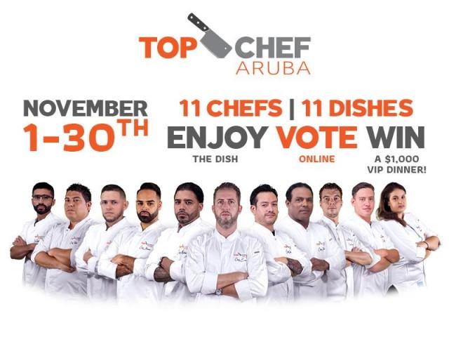 Top Chef Aruba is Back!